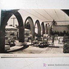Postales: POSTAL CASTELL FERRO: HOTEL CASTELL: TERRAZA BAR. Lote 20437655