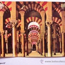 Postales: CORDOBA, LA MEZQUITA. INTERIOR, INSIDE, INTERIEUR, INNERE. 631. Lote 20594768