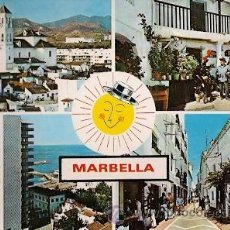 Postales: MARBELLA (COSTA DEL SOL) - DIVERSOS ASPECTOS. Lote 20624539