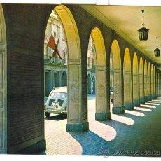 Postales: HUELVA - SOPORTALES DE LA GRAN VIA (1969) - POSTAL CON COCHES ANTIGUOS. Lote 20668695