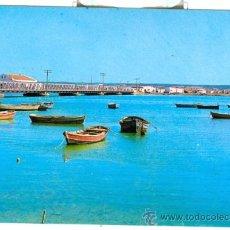 Postales: ISLA CRISTINA (HUELVA) - PUENTE SOBRE EL RIO CARRERAS (1969). Lote 20672243