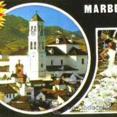 Postales: MARBELLA (COSTA DEL SOL) - DIVERSOS ASPECTOS. Lote 20892771