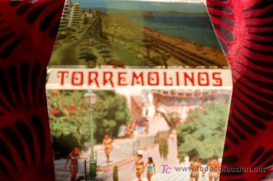 TORREMOLINOS-18 POSTALES EN CARTERA-10,5X7,5CM-AÑOS 80- (Postales - España - Andalucia Moderna (desde 1.940))