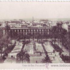 Postales: SEVILLA: PLAZA DE SAN FERNANDO. ED. ARRIBAS. CIRCULADA (AÑOS 50). Lote 23878431