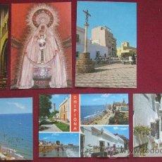 Postales: CADIZ : CHIPIONA 6 POSTALES COLOR. Lote 21132188