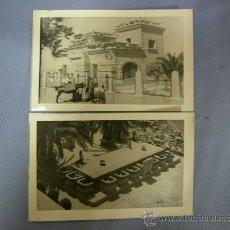Postales: FOTO - POSTAL CASA DE LA PIEDRA Y MESA DE PIEDRA.- PORCUNA (JAEN) FOTO CESAR. Lote 21380665