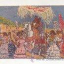 Postales: M. BERTUCHI. ROMERIA DEL ROCIO. (ED. COLL SALIETI). Lote 22386632