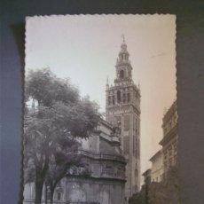 Postales: POSTAL DE SEVILLA -100- LA GIRALDA (CIRCULADA 1955). Lote 21491131