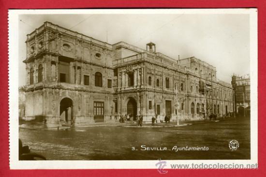 SEVILLA, AYUNTAMIENTO, FOTOGRAFICA, P41959 (Postales - España - Andalucía Antigua (hasta 1939))