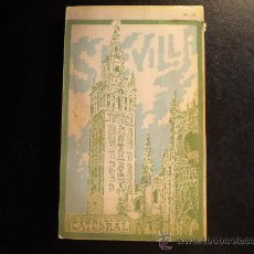 Postales: SEVILLA 20 POSTALES DEL FOTOGRAFO L. ROISIN. DEDICADAS EL 25/08/1933. Lote 26487171