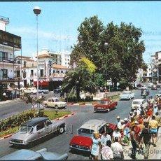 Postales: POSTAL TORREMOLINOS MALAGA PLAZA COSTA DEL SOL . BEASCOA 1968 .. Lote 27578609