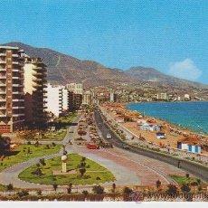 Postales: (48) FUENGIROLA . PASEO MARITIMO Y PLAYA. Lote 22066659