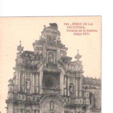 Postales: TARJETA POSTAL DE JEREZ DE LA FRONTERA. Nº694, PORTADA DE LA CARTUJA (SIGLO XIV). FOTOTIPIA THOMAS.. Lote 22116430