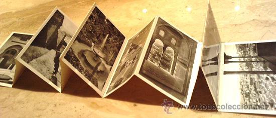 GRANADA, 10 POSTALES EN LIBRILLO, FALTA LA TAPA, EDITOR GARCÍA GARRABELLA, TAMAÑO 14X9, VER FOTOS (Postales - España - Andalucia Moderna (desde 1.940))