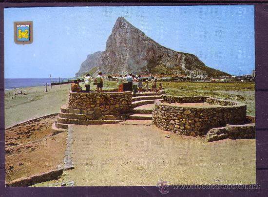 PEÑON DE GIBRALTAR - LA LINEA - CADIZ (Postales - España - Andalucia Moderna (desde 1.940))