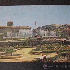 Postales: GRANADA,PLAZA DEL TRIUNFO,FUENTE MONUMENTAL. Lote 22370535