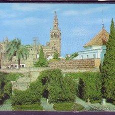 Postales - GIRALDA, VISTA DESDE LOS REALES ALCAZARES - SEVILLA - 22379107