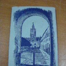 Postales: TACO DE POSTALES DE SEVILLA. 1ª SERIE COLOR. 10 POSTALES. Lote 22524025