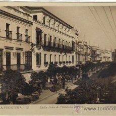 Postales: JEREZ DE LA FRONTERA - 12 CALLE JOSÉ ANTONIO PRIMO DE RIVERA. Lote 22541876