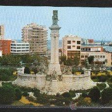 Postales: Nº 92 CADIZ, PLAZA DE ESPAÑA. MONUMENTO A LAS CORTES. Lote 22554255