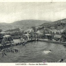 Postales: LANJARON (GRANADA) PISCINA DEL BALNEARIO. Lote 22707180