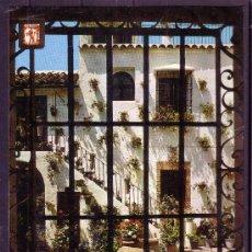 Postales: CORDOBA - PATIO CORDOBES. Lote 22753456