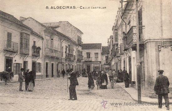 Algeciras calle castelar comprar postales antiguas for Calle castelar