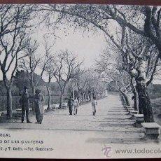 Postales: ANTIGUA POSTAL DE PUERTO REAL - CADIZ - PASEO DE LAS CANTERAS - N. 8 - ED. HAUSER Y MENET.. Lote 22927621