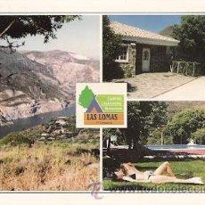 Postales: GÜEJAR-SIERRA (GRANADA) - CAMPING CARAVANING LAS LOMAS (DIVERSOS ASPECTOS). Lote 23065098