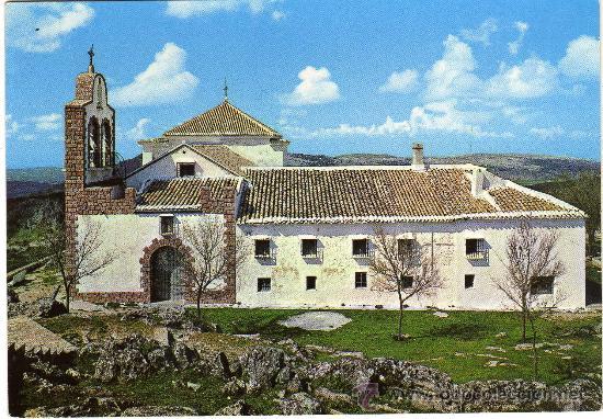 Bonita Postal Cabra Cordoba Santuario De La Virgen De La Sierra Patrona