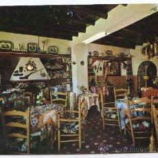 Postales: ARACENA, HUELVA. RESTAURANTE CASAS, JUNTO A LA GRUTA DE LAS MARAVILLAS. ED. ARRIBAS. Lote 23419625