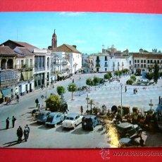 Postales: POSTAL. UTRERA. PLAZA DE JOSÉ ANTONIO (ANTIGUA ALTOZANO). Lote 23563068