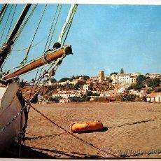 Postales: MALAGA. TORREMOLINOS. PLAYA DEL BAJONDILLO.. Lote 23653518