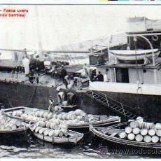 Postales: ALMERIA. FAENA UVERA. EMBARCANDO BARRILES. COLECCIÓN LACOSTE Nº2 A. CIRCULADA EN 1920.. Lote 25989323