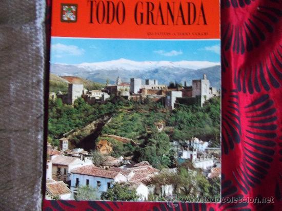 TODO GRANADA-150 FOTOS A TODO COLOR-130 PAGINAS-1976- (Postales - España - Andalucia Moderna (desde 1.940))