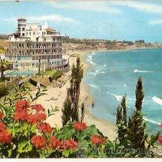 Postales: POSTAL A COLOR 934 COSTA DEL SOL TORREMOLINOS PLAYA BEASCOA ESCRITA 1964. Lote 23771567