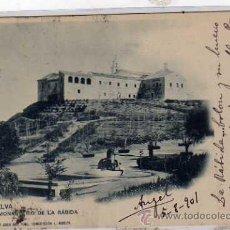 Postales: HUELVA. MONASTERIO DE LA RABIDA Nº 9. AMADOR Y JUAN DEL PINO CONCEPCIÓN. CIRCULADA.. Lote 23891765