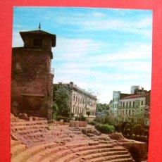Postales: MÁLAGA - TEATRO ROMANO. Lote 23891949