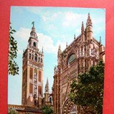 Postales: SEVILLA - CATEDRAL - LA GIRALDA. Lote 23892644