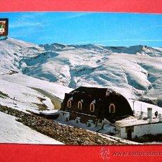 Postales: GRANADA - SIERRA NEVADA Y EL ALBERGUE. Lote 23947291