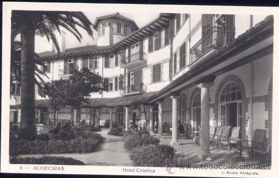 ALGECIRAS (CÁDIZ).- HOTEL CRISTINA (Postales - España - Andalucia Moderna (desde 1.940))