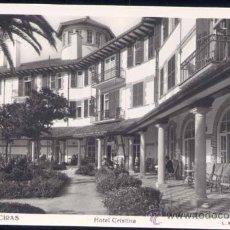 Postales: ALGECIRAS (CÁDIZ).- HOTEL CRISTINA. Lote 24246030