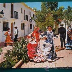 Postales: POSTAL DE MÁLAGA, COSTA DEL SOL, ANDALUCÍA. AÑO 1975. ESCENA TÍPICA ANDALUZA. 684. . Lote 27291300
