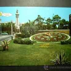 Postales: 9131 ESPAÑA ANDALUCIA CADIZ RELOJ FLORAL Y MONUMENTO A LAS CORTES AÑOS 60 ESCRITA TENGO MAS POSTALES. Lote 24913263