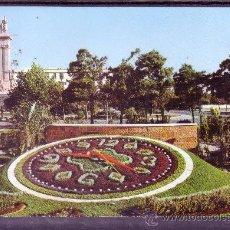 Postales: CADIZ - PLAZA DE ESPAÑA - RELOJ FLORAL Y MONUMENTO A LAS CORTES - ED SICILIA Nº 2. Lote 25027815