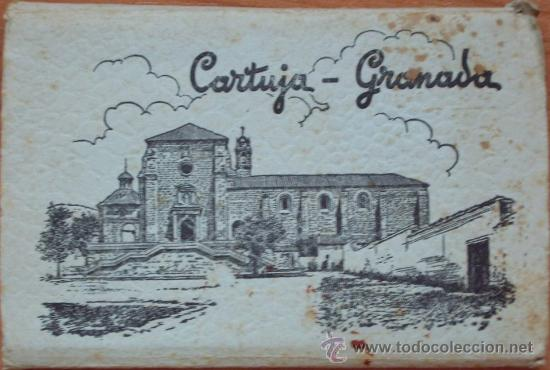 GRANADA CARTUJA - ALBUM DE 15 POSTALES - EDICIONES GARCIA GARRABELLA - ZARAGOZA (Postales - España - Andalucia Moderna (desde 1.940))