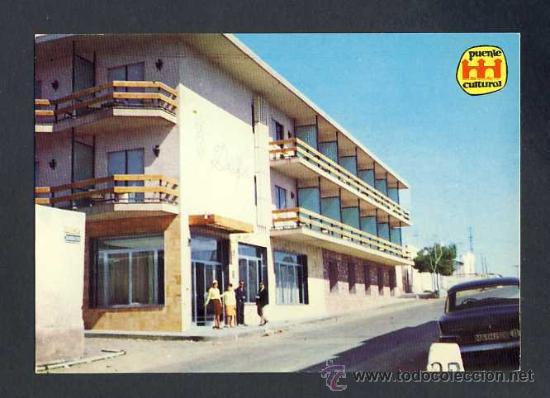 POSTAL DE GARRUCHA (ALMERIA): VILLA DELFIN (ED.PUENTE CULTURAL) (Postales - España - Andalucia Moderna (desde 1.940))