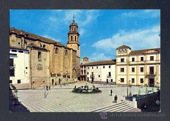 POSTAL DE BAZA (GRANADA): PLAZA MAYOR (ED.ARRIBAS NUM.11) (Postales - España - Andalucia Moderna (desde 1.940))