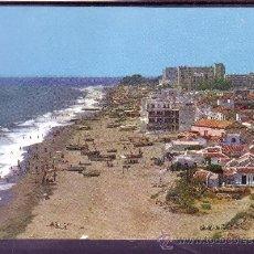 Postales: TORREMOLINOS PLAYA DE LA CARIHUELA. Lote 25418556