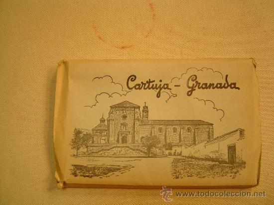 BROQUE DE 15 POSTALES CARTUJA DE GRANADA (Postales - España - Andalucia Moderna (desde 1.940))